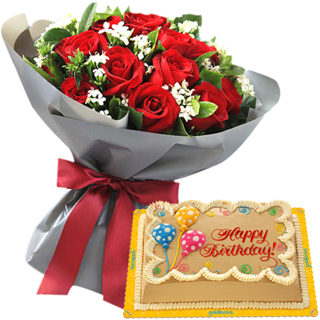 Birthday Flowers Images Red Roses
