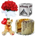 valentines bear cake chocolates online to philippines