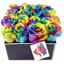 send valentine's rainbow roses to philippines