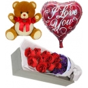 online balloon bear flower to philippines
