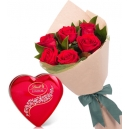 online valentines day flower with chocolate to philippines