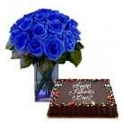 Send Father's Day Flower with Cake To Philippines