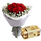 Send Birthday Flowers with Chocolate To Metro Manila