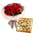 Send Flowers with Chocolate to Metro Manila