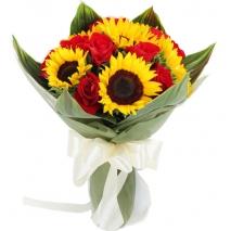 online 6 pieces sunflower in bouquet to philippines