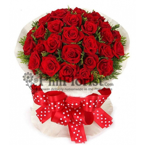 Beautiful Long Stem Premium Red Roses will make a lasting impression.