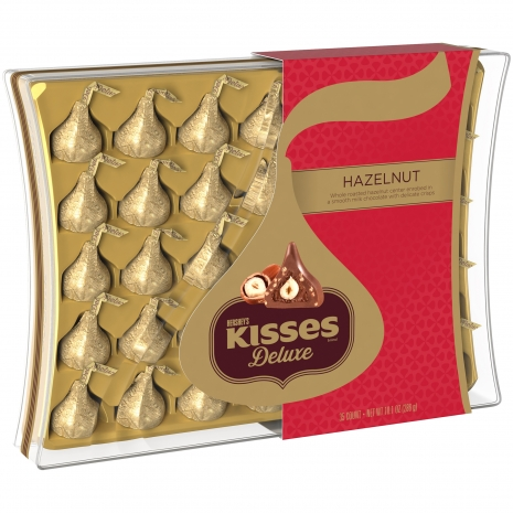 Online Hershey's Kisses Deluxe Roasted Hazelnut Chocolate to Philippines