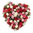 4 Dozen Heart Shaped Roses