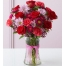 buy roses with seasonal flower vase philippines