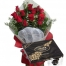 send 12 red roses with lindt lindor extra dark chocolate box to philippines