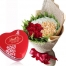 send 36 mixed roses with lindt chocolate box to Philippines