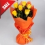 Send 6 Pcs. Yellow Roses in Bouquet to Philippines