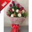 Send V-Day Bunch of 12 Mixed Roses to Philippines