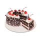 red ribbon black forest cake to philippines