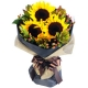 online 3 pieces sunflower in bouquet to philippines