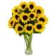 online sunflower vase to philippines