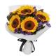 online 4 pieces sunflower bouquet in philippines